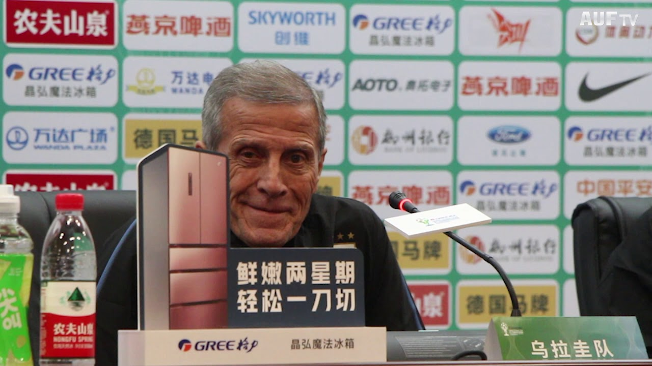 Conferencia tras obtener la China Cup 2019