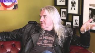 "The Backline talk to Saxon lead singer ""Biff"" about their new album """