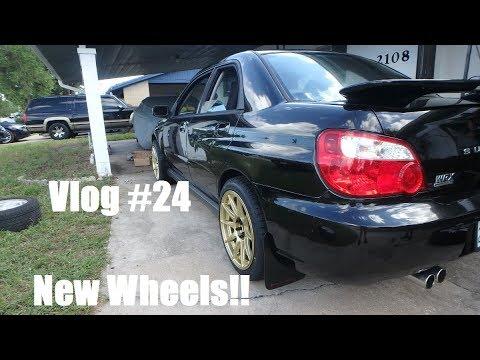 Vlog #24 | New Wheels for Subaru WRX!!