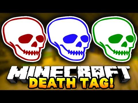 Minecraft DEATH TAG! #4 (Funny Mini-Game!) – w/ Preston, JeromeASF & Choco