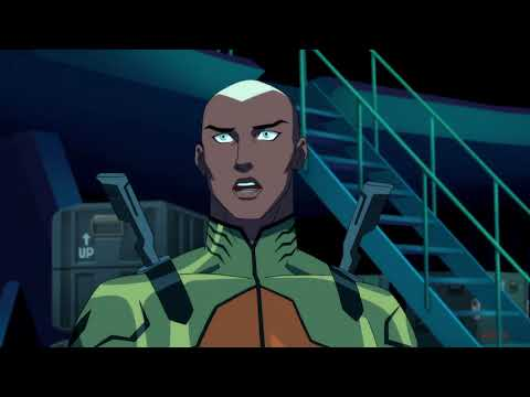 Young Justice | Secret Justice League takes down Stagg's Meta Ring