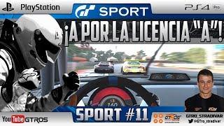 GT SPORT | A POR LA LICENCIA DE PILOTO A - BETTLE (vs) DRAGON TRAIL | GTro_stradivar Carrera Online