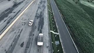 Fpv Mode RacerDron by DronExperto seguimiento auto carretera
