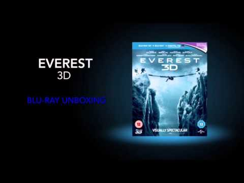 Everest 3D blu-ray unboxing