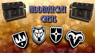 Skyrim Secret/Hidden Chest Locations!