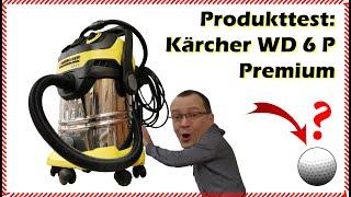 """Kärcher WD6 P Premium - eine """"sehr kurze"""" Produktvorstellung"""