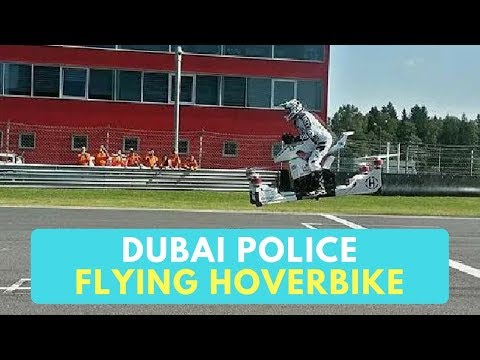 Flying Motorbike for Dubai Police - Dubai Police Hoverbike