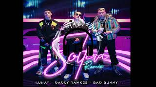 Soltera Remix - Lunay X Daddy Yankee X Bad Bunny (Extended Mix) 92 BPM