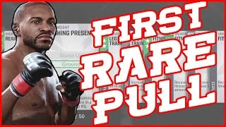 MY FIRST RARE PULL!! - UFC 2 Pack Opening