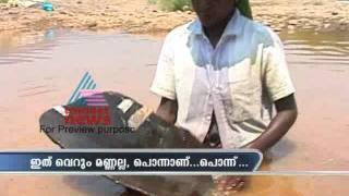 Golddiggers rush to Kerala, Chaliyar River, Malappuram