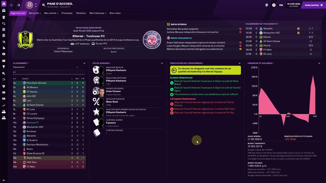 Visualisez la dernière vidéo de Naka sur Football Manager