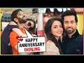 Nakuul Mehta Special Marriage Anniversary Post Wit