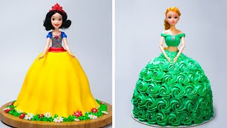 5+ Best Princess Cake Decorating Ideas | Easy Homemade Princess Cake With Yummy Pastry