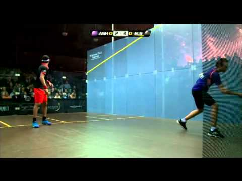Squash: How to Warm A Ball Up Egypt Style