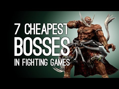The 7 Cheapest Bosses in Fighting Game History