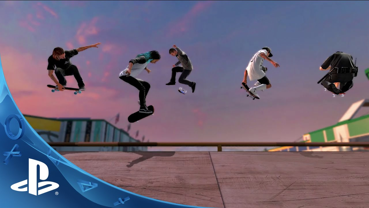 Tony Hawk's Pro Skater 5 Online Details, PlayStation-Exclusive Goodies
