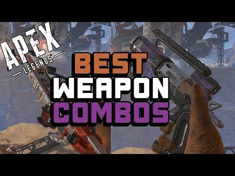 Top 4 BEST Weapon Combos for Apex Legends