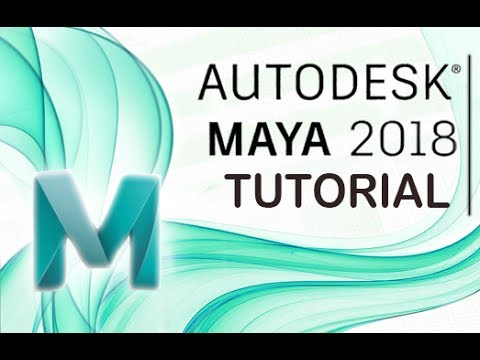 Maya 2018 – Tutorial for Beginners [General Overview]*