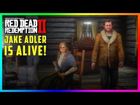 Sadie Adler's Husband Is Finally Revealed In Red Dead Redemption 2 - Jake Adler Is ALIVE! (RDR2)
