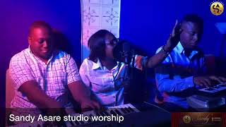 New Live Ghana Worship From Sandy Asare And Crew,
