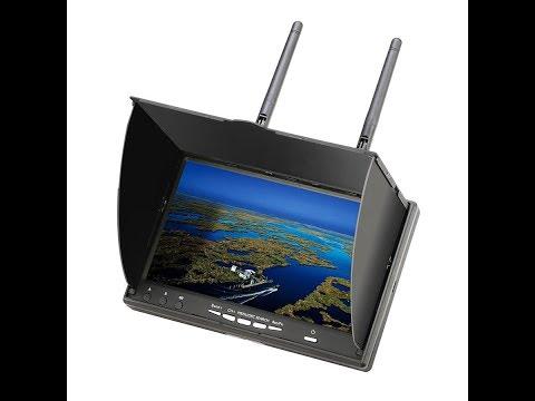 Monitor Eachine LCD5802D 5802 5 8G 40CH da Banggood