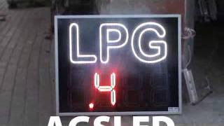 Led LPG Tabelası