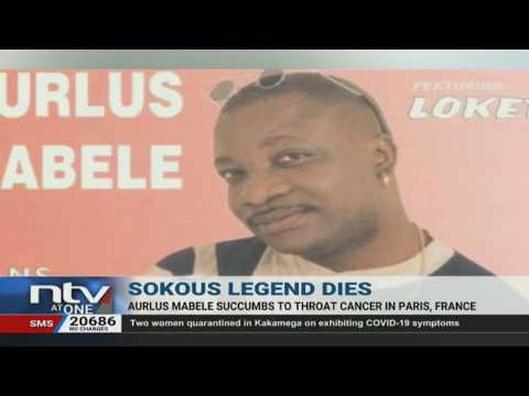Soukous star Aurlus Mabele is dead at the age of 67