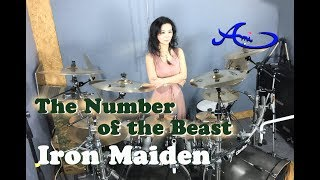 Iron Maiden - The number of the beast drum cover by Ami Kim (32nd)