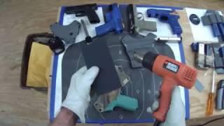 Heating & Adjusting your kydex Holster
