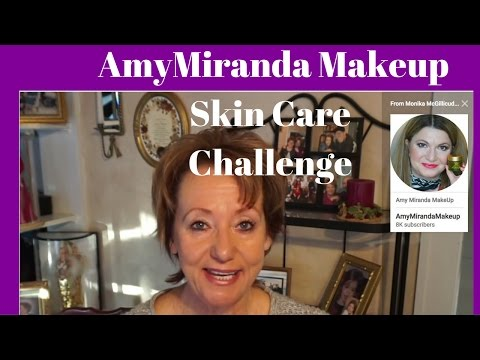 AmyMirandaMakeup Skin Care Use It Up Challenge