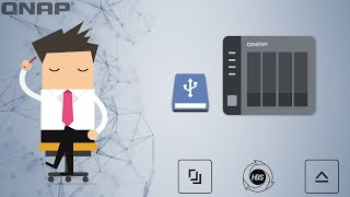 QNAP Backup - How to backup your NAS to an External USB Disk.
