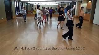 A Tender Heart Line Dance (Choreographed by Eva Pau)