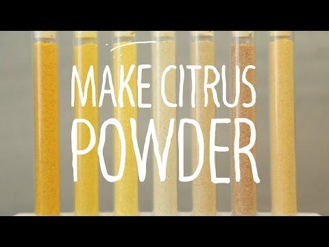 Kick Flavours Up A Notch With DIY Citrus Powder