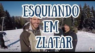 Esqui na Sérvia - montanha Zlatar
