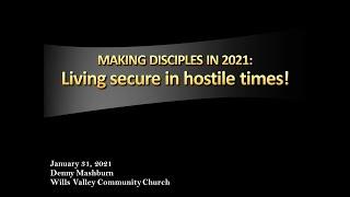 Living secure in hostile times!