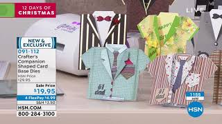 HSN   Crafter's Companion 11.05.2019 - 09 PM