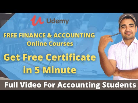 Free Finance & Accounting 10 Courses With Free Certificate on ...