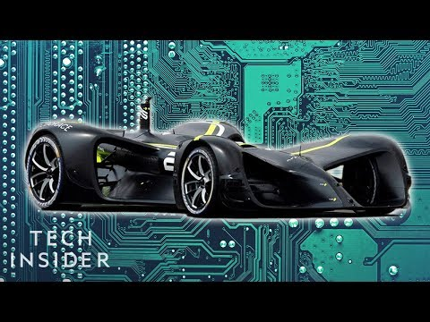 Self Driving Race Cars are Heading to the Track