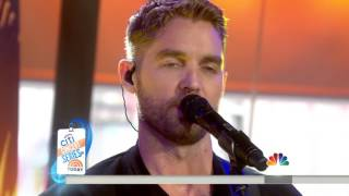 Sleep Without You -Brett Young- Today Show 2017.02.09