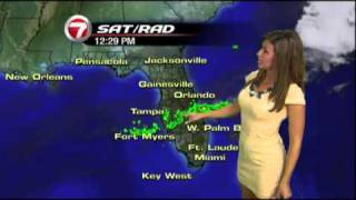 WSVN-TV 7NEWS Julie Durda hottest Weather girl ever 7/18