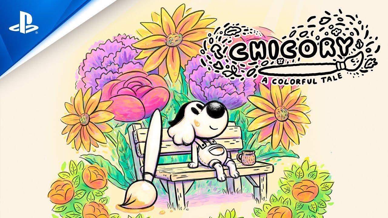 Convierte el mundo en tu lienzo con Chicory: A Colorful Tale, que llegará esta primavera a PS5 y PS4