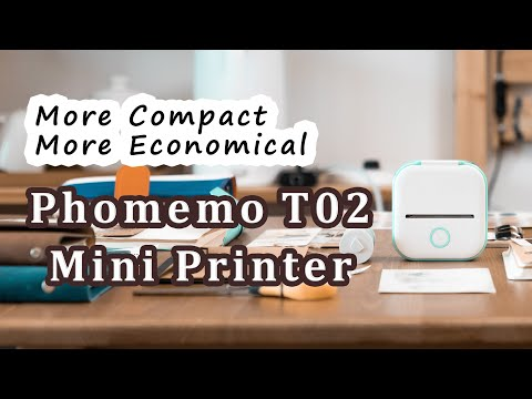 Phomemo T02: Inkless Pocket Printer For Creators-GadgetAny