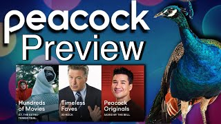 NBC Peacock TV Preview Thoughts