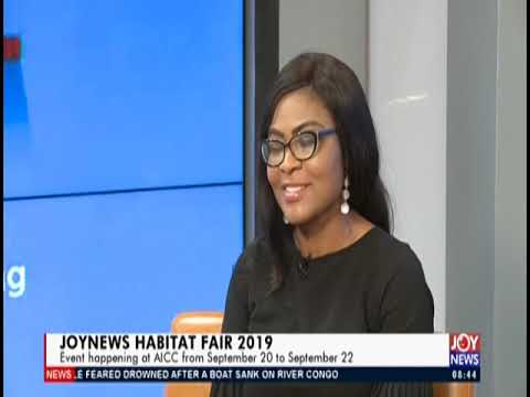 JoyNews Habitat Fair 2019   AM Show on JoyNews 16 9 19