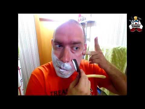 Дмитрий Платахин г.Бийск . Опасная бритва Гравюра  1959 г.р. 13 08 2018 #homelike, #бритьё
