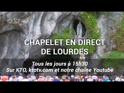 Chapelet du 30 septembre 2020 à Lourdes