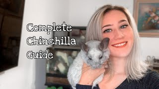 CHINCHILLA CARE GUIDE (Everything You Need to Know)