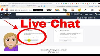How to Contact Amazon Through Chat? (Live Chat) Amazon.com 2019