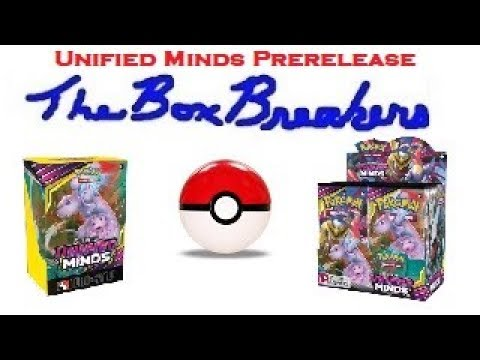 Pokemon Unified Minds Prerelease Booster Packs and Build Battle Kits Amazing Opening