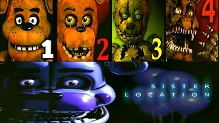 Five Nights at Freddy's: Sister Location FNAF 1 2 3 4 Jumpscares Simulator